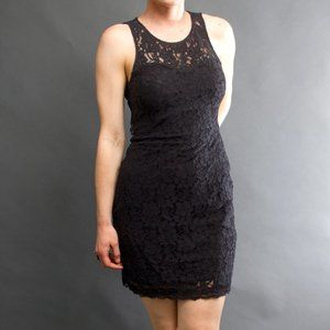 *EXPRESS* Black Lace Dress